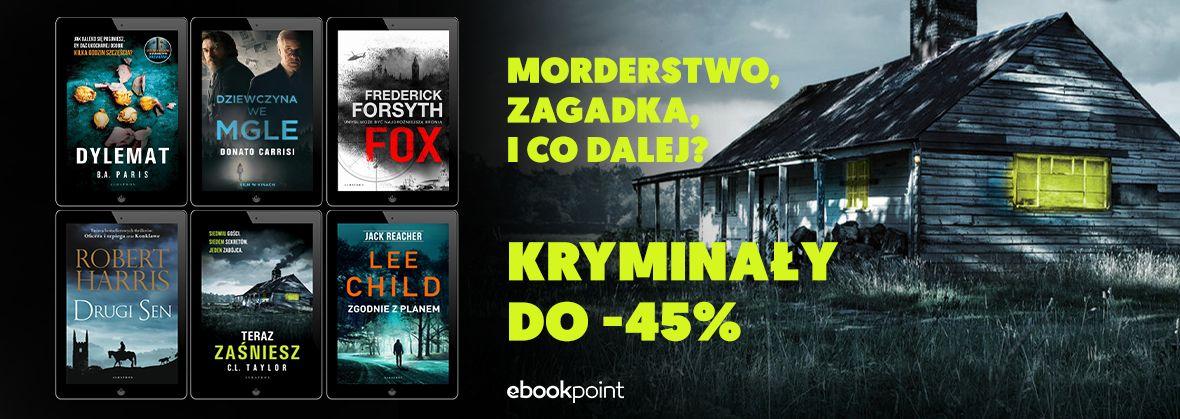 Promocja na ebooki Morderstwo, zagadka...i co dalej? / Kryminały do -45%